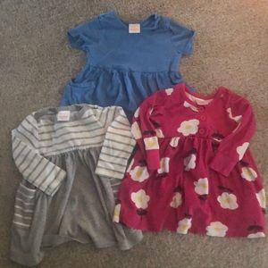 3 Hanna Andersson Play Dresses